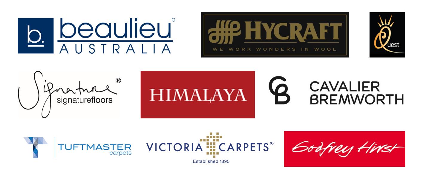 Carpet Brand Manufacturers Sydney - Eastwood Carpets Stockists